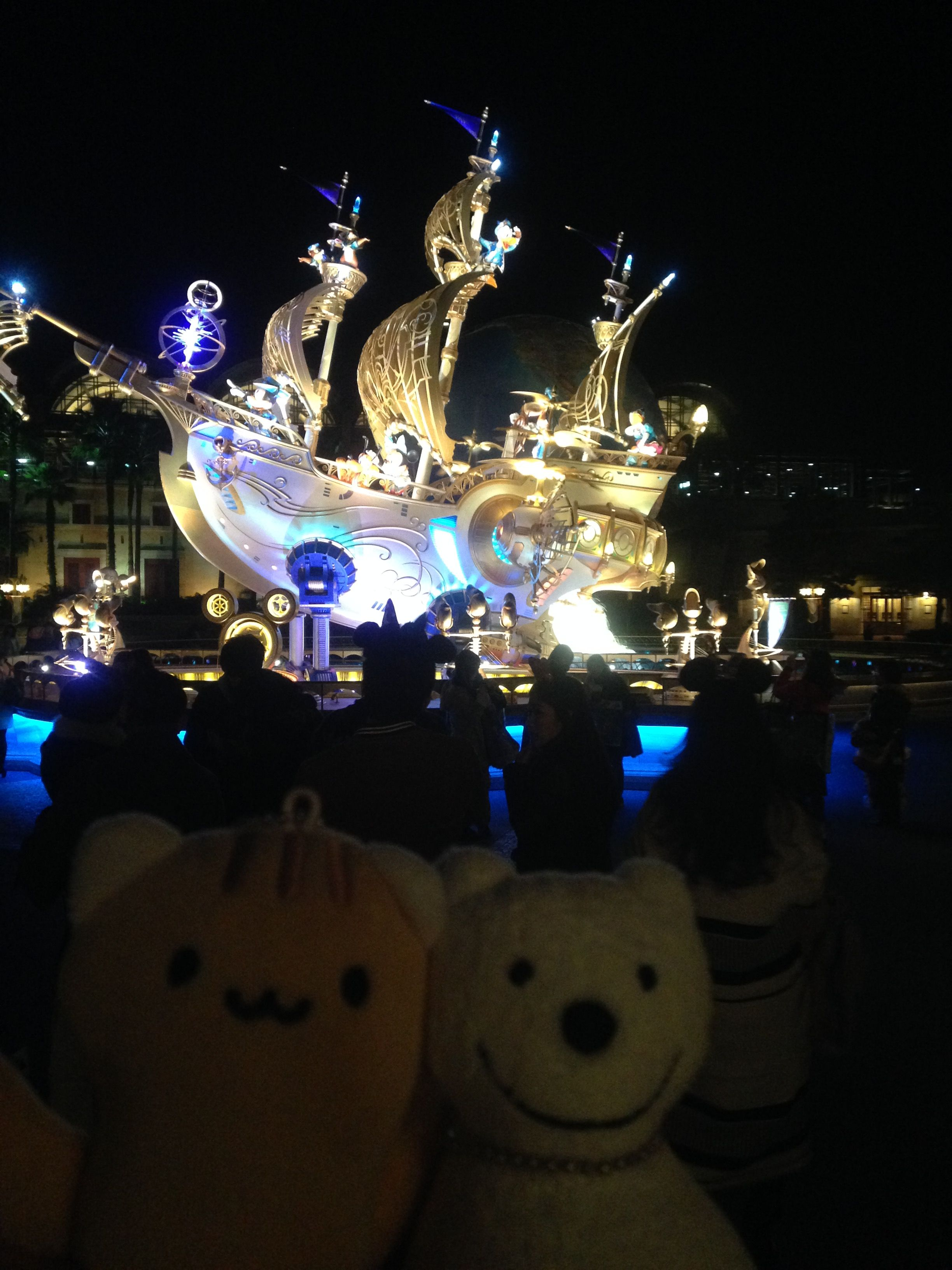 クマ散歩:東京ディズニーシーに品行方正なクマ出沒5 The Bear ...