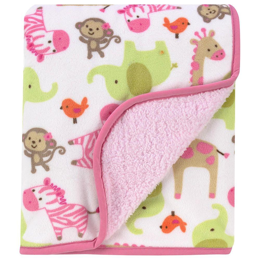 Carter S Zebra Sherpa Blanket Carters Babies R Us Baby Girl