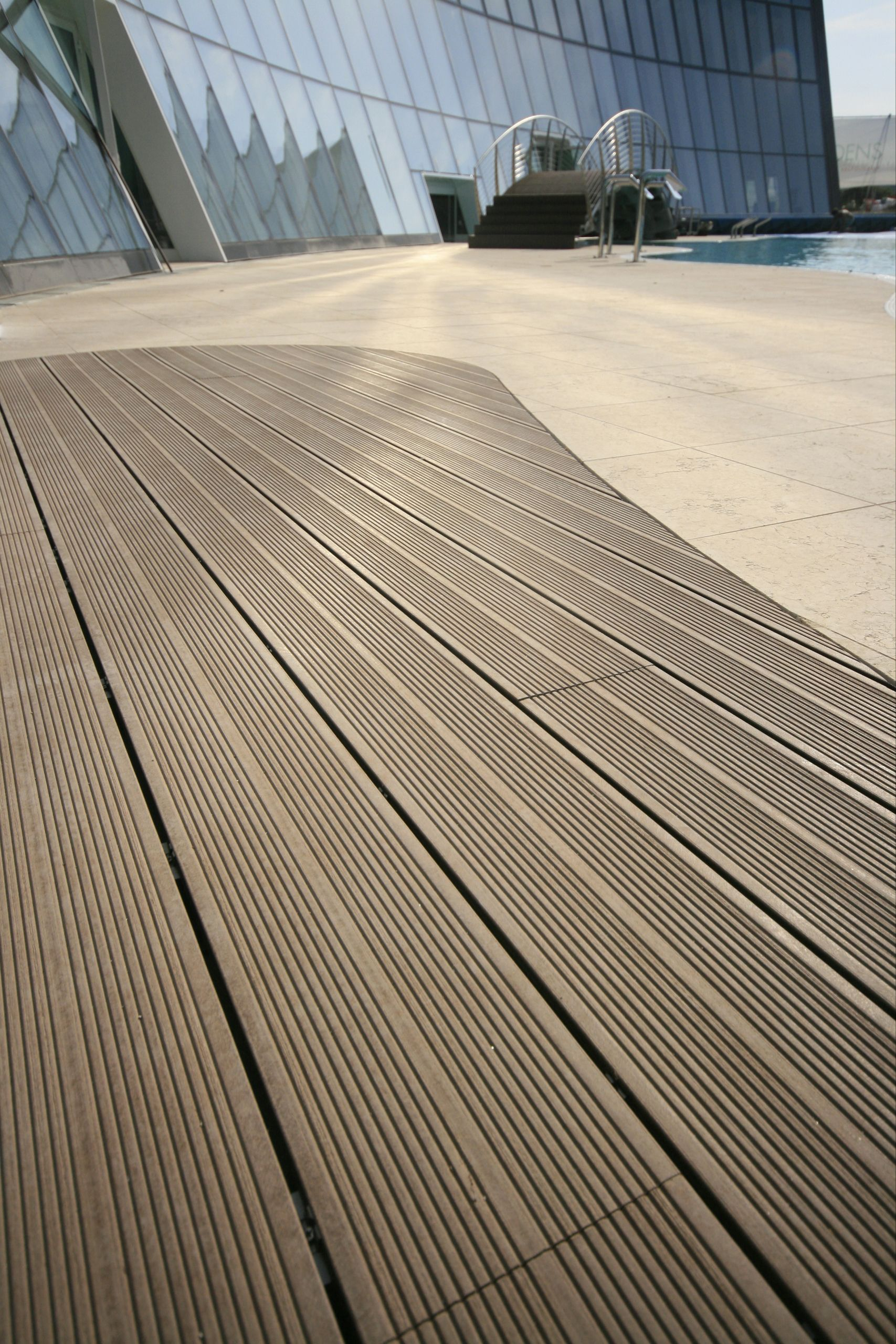 Flooring For A Summer House Mixing Composite Decking And Wood Contemporary Wood Decking For Sale Wpc Decking Wood Deck Designs Wood Plastic Composite