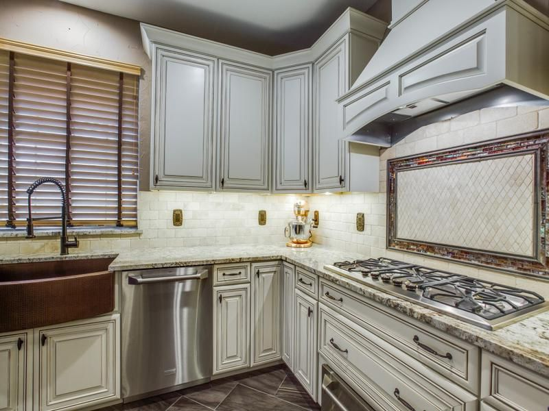 Kitchen Makeover in Keller TX - Stove, Countertop (With ...
