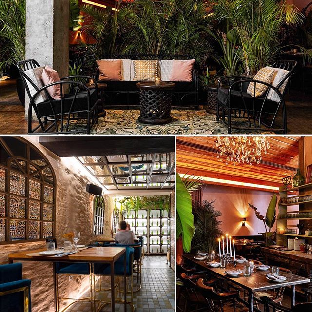 The Jungle Room Nyc By Grupo Gitano Brings A Taste Of Tulum And The Colonial Towns Of Yucatan To Colonial Architecture Bar Design Restaurant Hospital Interior
