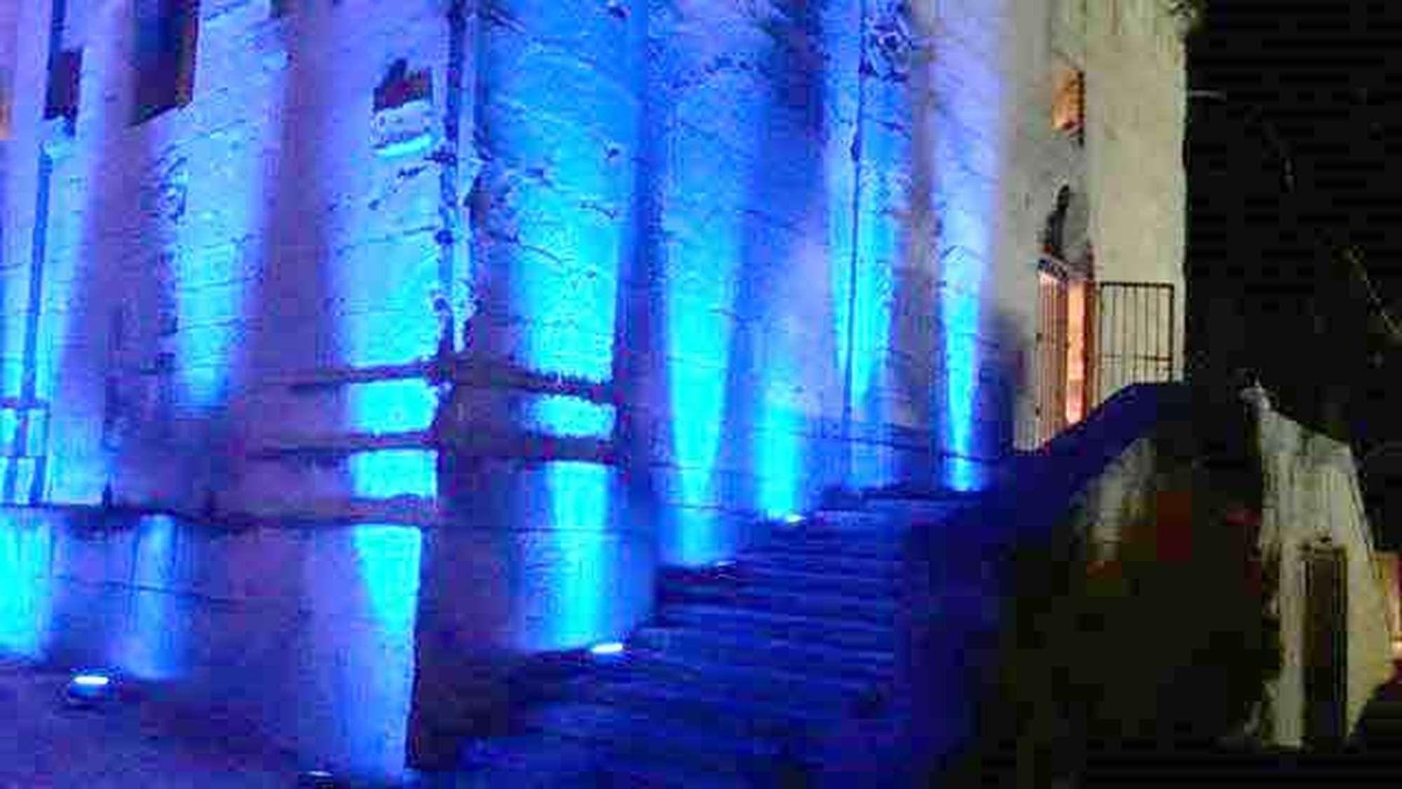 Wireless led uplighters for rent in maltaled malta rent