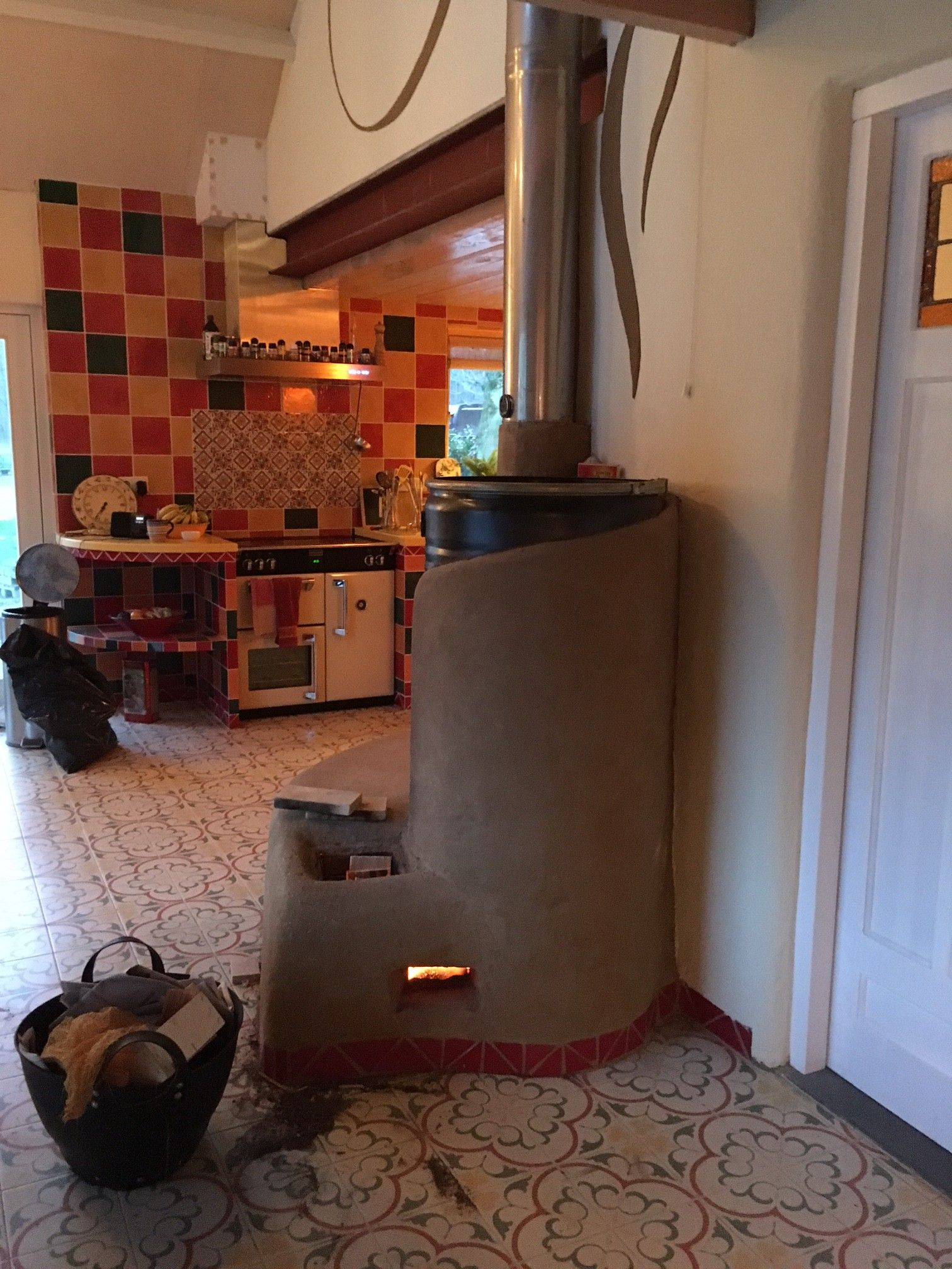 4 rocket masonry heater castle build kit stove cast iron stove