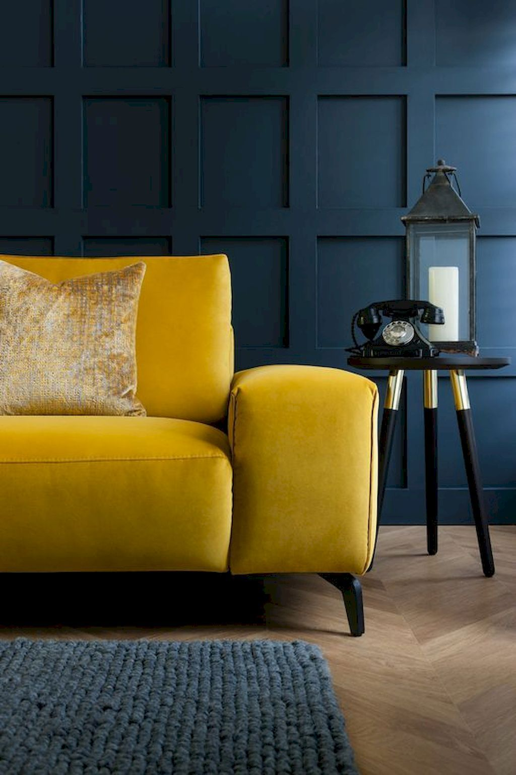 75 Beautiful Yellow Sofa for Living Room Decor Ideas #cozyliving