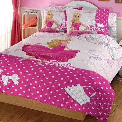 Barbie Comforter Set Twin Barbie Bedroom Girls Bedroom Themes