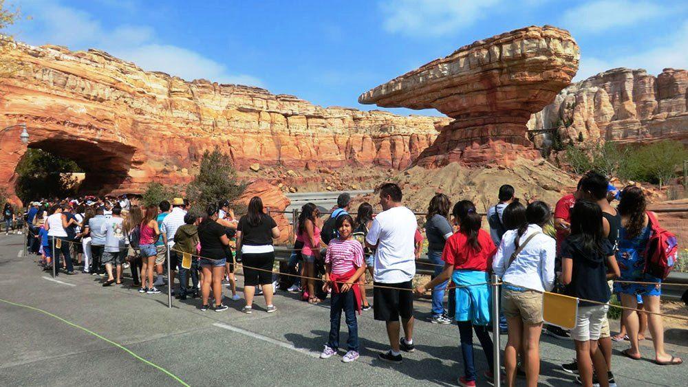 Cars Land Christmas At Disney Tourist