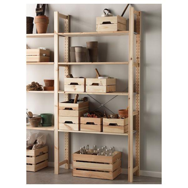 KNAGGLIG Kist, grenen, 23x31x15 cm IKEA in 2020 | Ikea