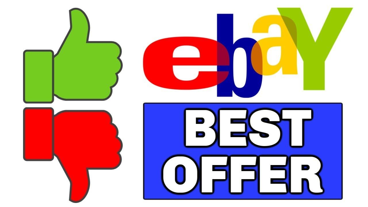 Ebay Best Offer Or Not How To Set Up Best Offer On Ebay Ebay For Beginners 2019 Youtube In 2020 Free Etsy Online Auctions Goodwill Online