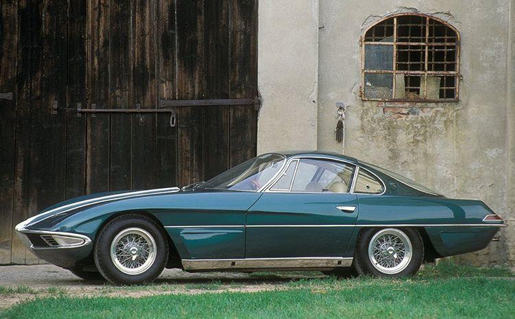 Space Age 1963 Franco Scaglione Lamborghini 350 Gtv One Off Lamborghini Francoscaglione Classiccars Sportcars In Lamborghini Classic Cars Car In The World