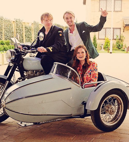 Rupert, Bonnie and Tom at the HP Studio Tour opening.