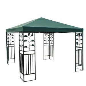 Green 10 Square Feet Garden Canopy Gazebo Replacement Top One Tier Outdoor Patio Yard Party Uv Protectio Gazebo Replacement Canopy Sun Shade Tent Garden Canopy