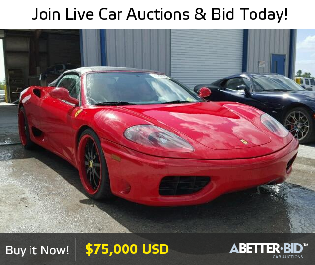 Salvage 2004 FERRARI ALL MODELS For Sale