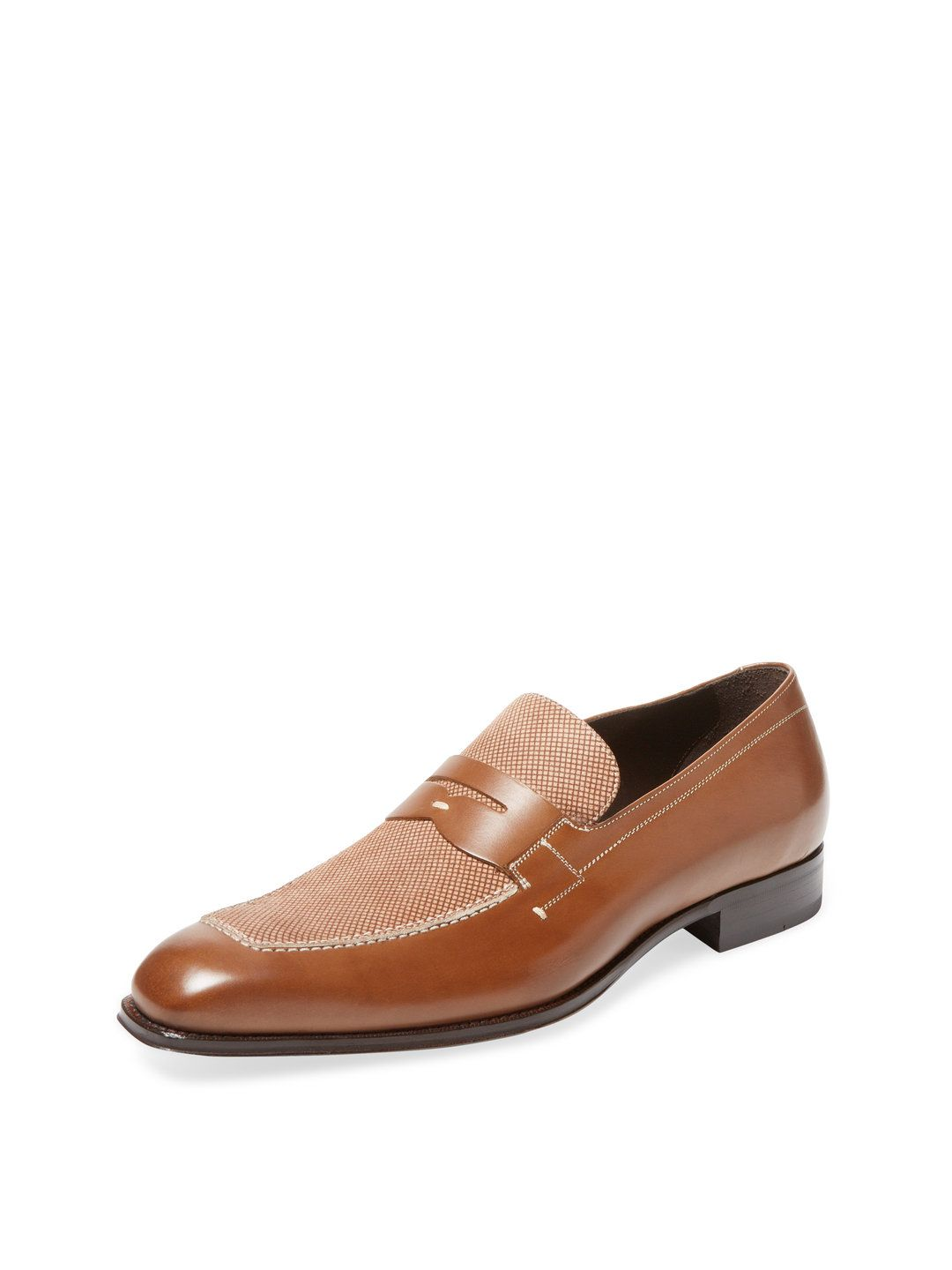 Check Loafer by Mezlan at Gilt