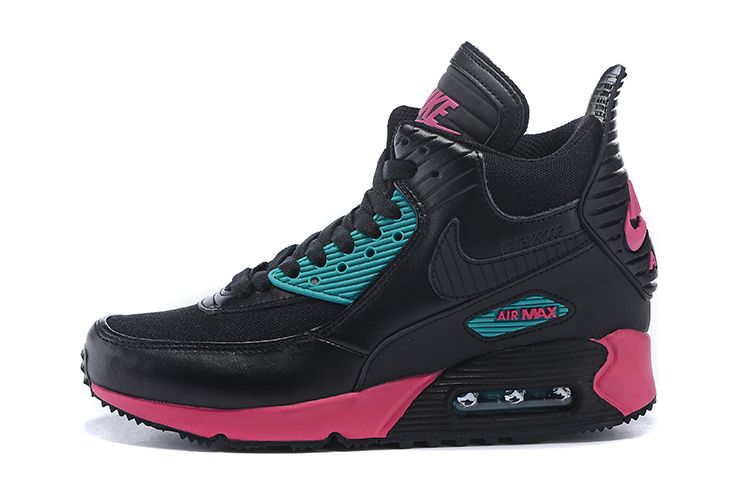 new product 3ccc7 ce599 promo code for nike air max 90 sneakerboot women black pink blue 560de 0eb30