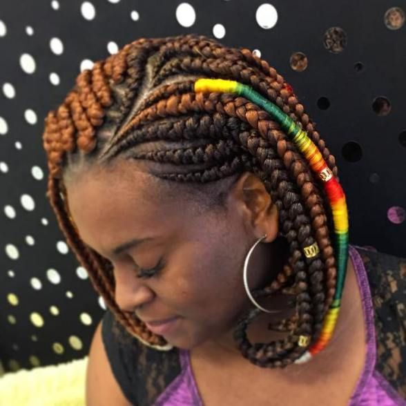 20 Ideas For Bob Braids In Ultra Chic Hairstyles Bob Braids Bob Braids Hairstyles Hair Styles