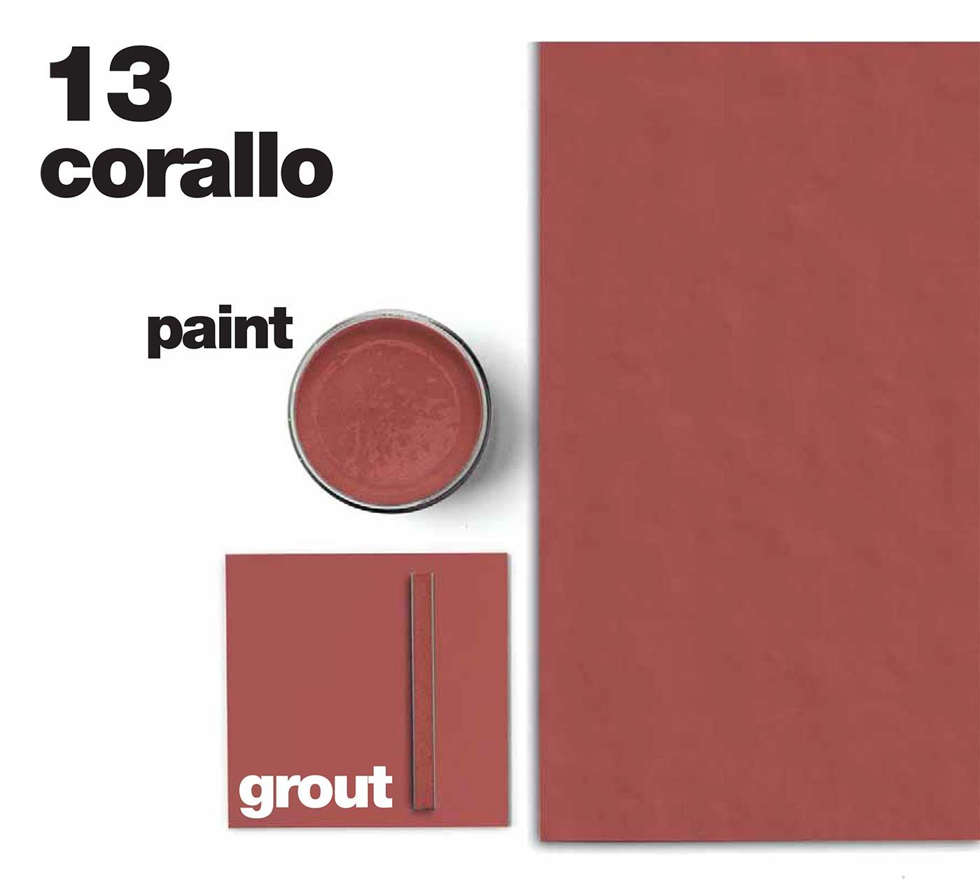 NEUTRA 6.0 - A new version of the series that has marked the origin of the Casamood brand. After a successful decade Neutra has expanded its family to become an increasingly evolved container. The palette is enriched with vibrant colours and oversized formats, coordinated stucco and painting enrich the proposed total look. #corallo #colours #wall #coverings