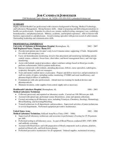 Resume Examples For Nurses With No Experience Examples of Resumes