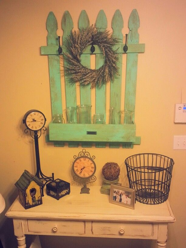 Repurpose Old Fence Posts Paint And Glaze Old Fences