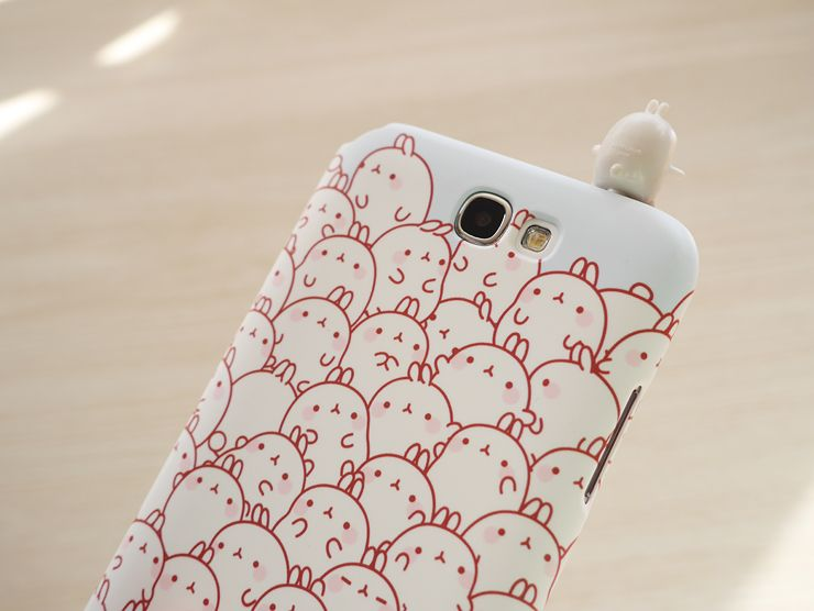coque iphone 8 molang