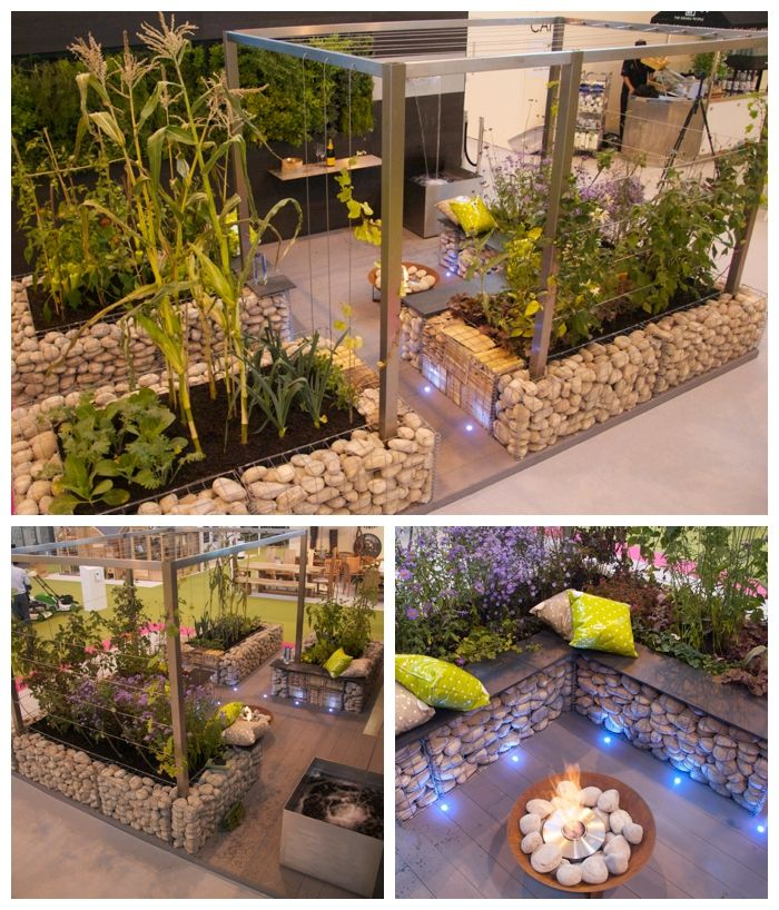 My Grand Designs Live Winning Show Garden Property Expert Gabion Fascinating Ideas For My Garden Property