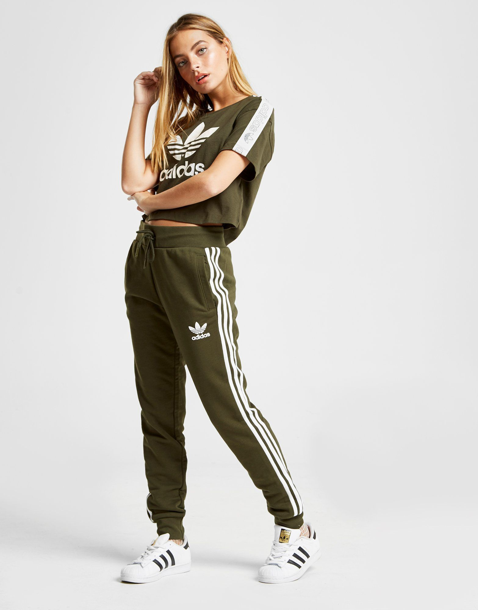 adidas Originals 3Stripes California Fleece Track Pants