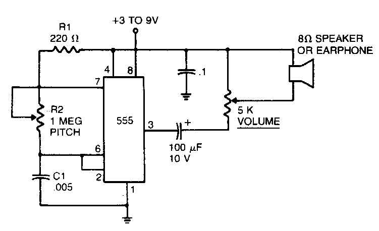 mosquito repelling circuit diagram