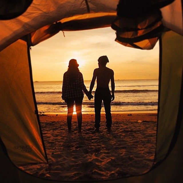 Camping is for lovers. www.dyerandjenkins.com Photo: @xaverius_endro #forgeyourownpath