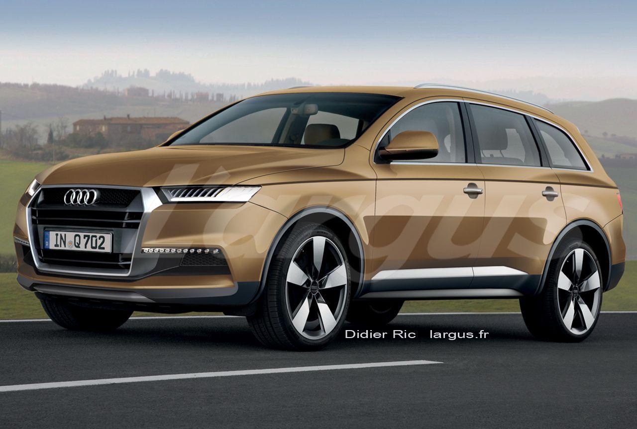 Exclusif le futur Audi Q7 (2014) se met au régime | Audi q7
