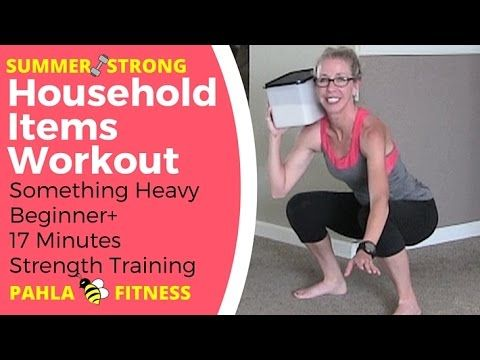 no equipment no excuses strength training with household