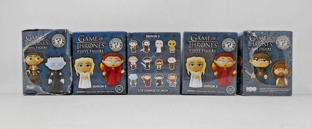 Mystery Minis Edition 3 Game of Thrones Neu