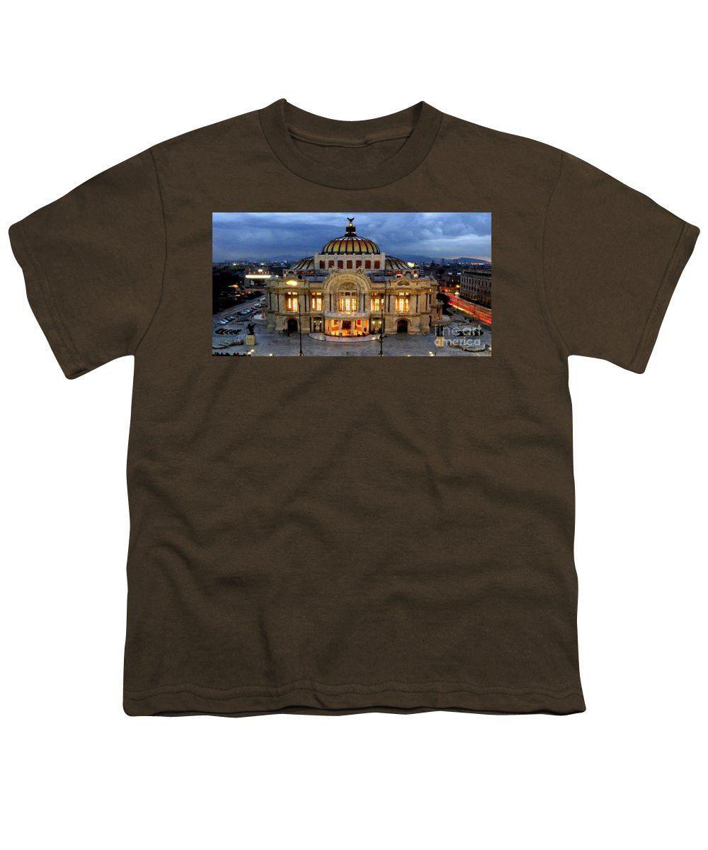 Youth T-Shirt - Palacio De Bellas Artes Mexico