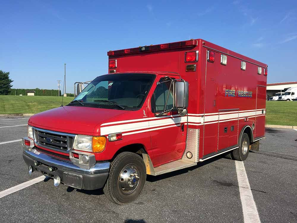 2006 Road Rescue Ford E450 Ambulance Ambulance, Fire