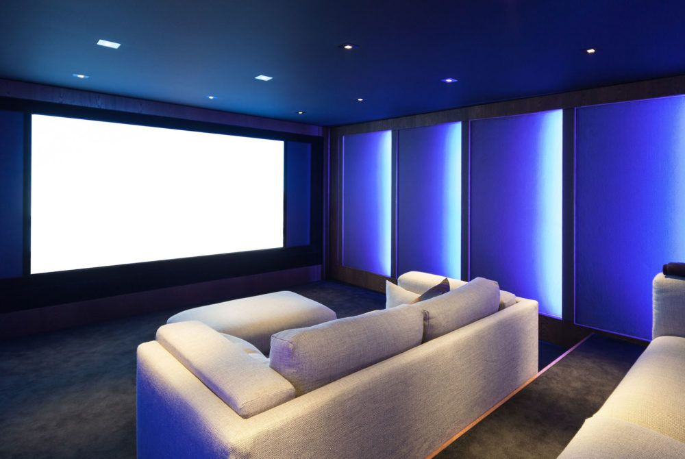 Home Theater Led Lighting Home Theater Rooms Home Cinema Room