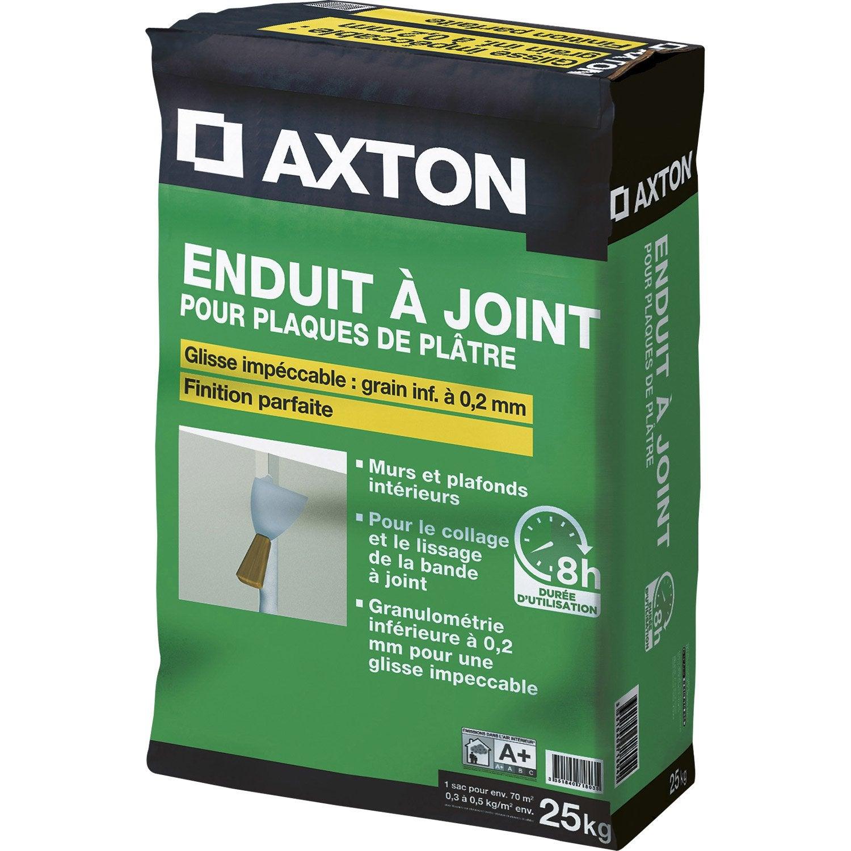 Enduit à Joint Pour Plaque De Plâtre Fassajoint 8h Axton 25