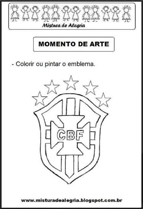 www misturadealegria blogspot com br copa do mundo emblema cbf