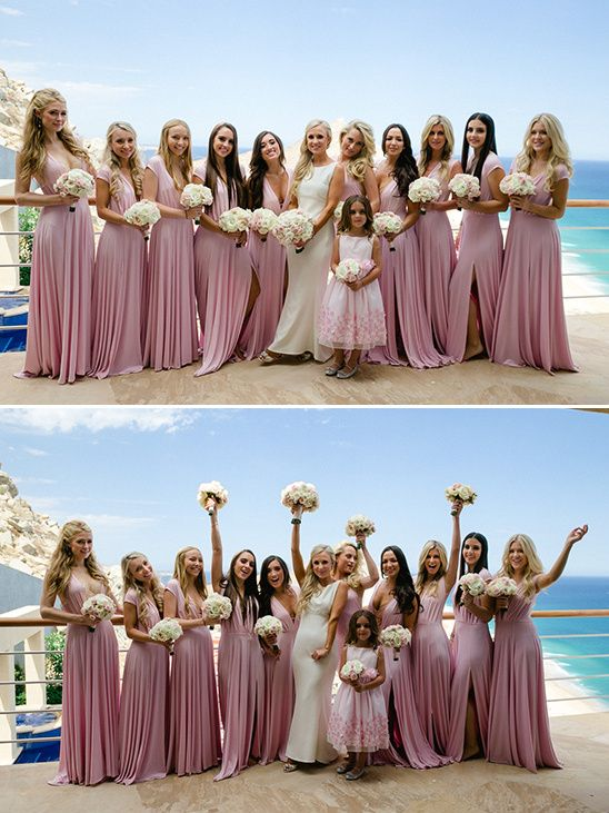Chic Beach Wedding In Mexico