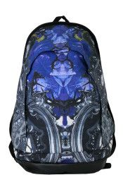 KTZ SS 2013 Collection Blue Rose/Lace Printed Backpack