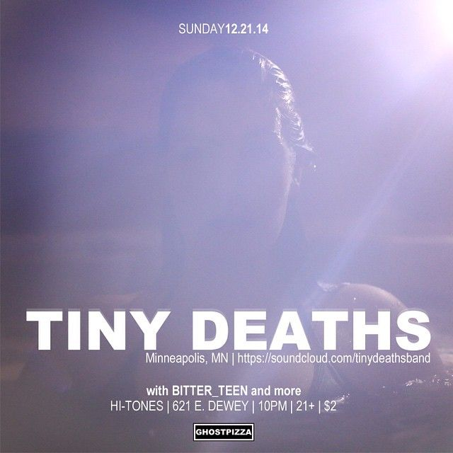 Tonight at @hitones_sa with @tinydeaths BITTER_TEEN, Calico Club and Creep$ide