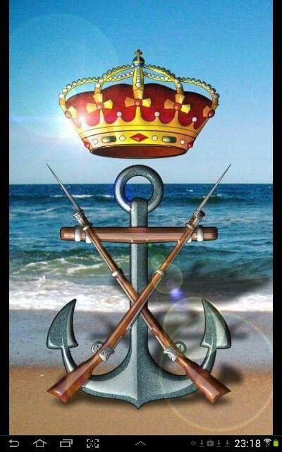 Escudo Infanteria de Marina Española