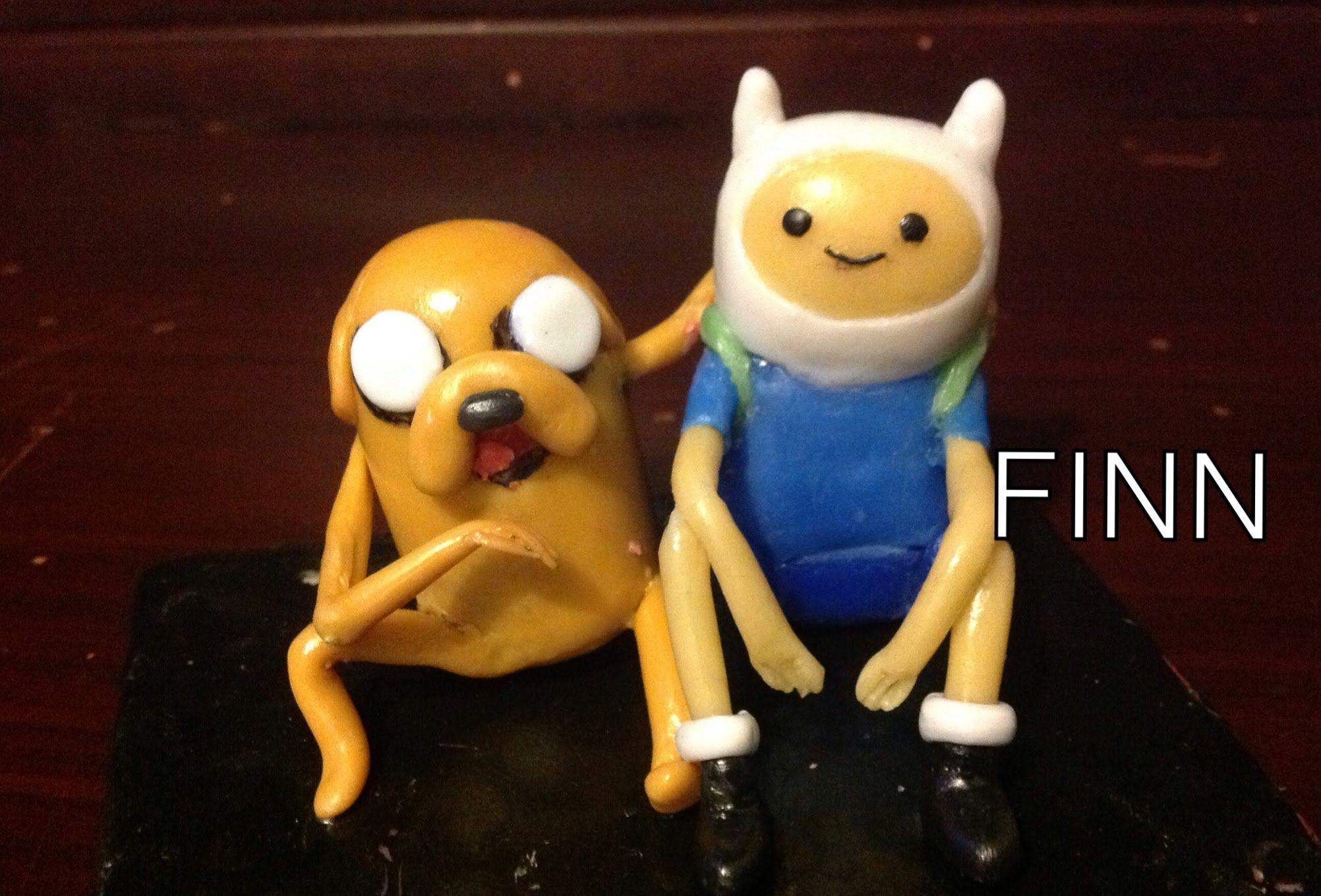 Tutorial Adventure time/ Hora de aventura FINN (plastilina, porcelana fr...
