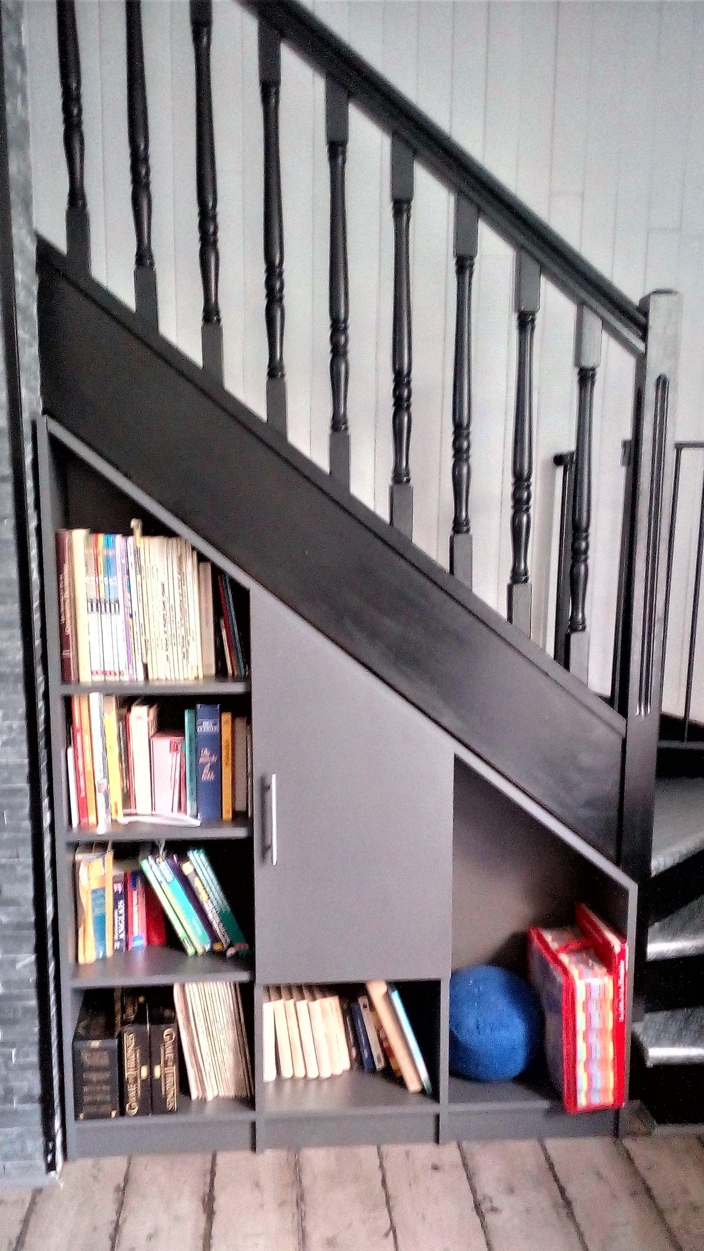 Creer Un Meuble Sous Escalier Épinglé sur meubles sur mesure, photos clients