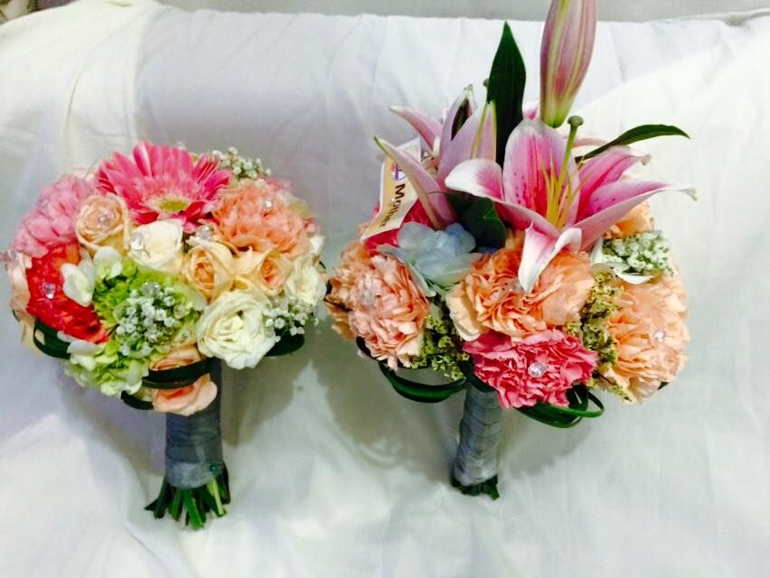 Pin On Bridal Bouquets And Brides