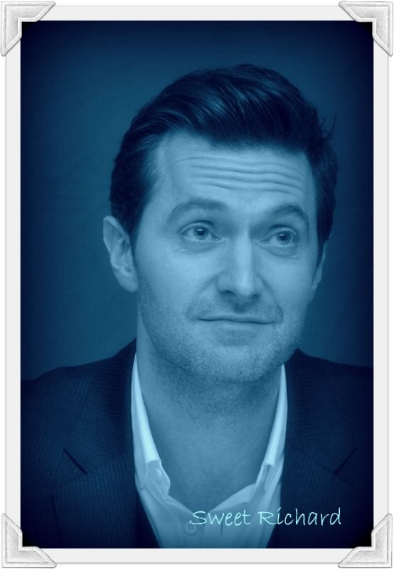 Sweet Richard in shades of blue.
