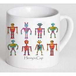 children's robot cup