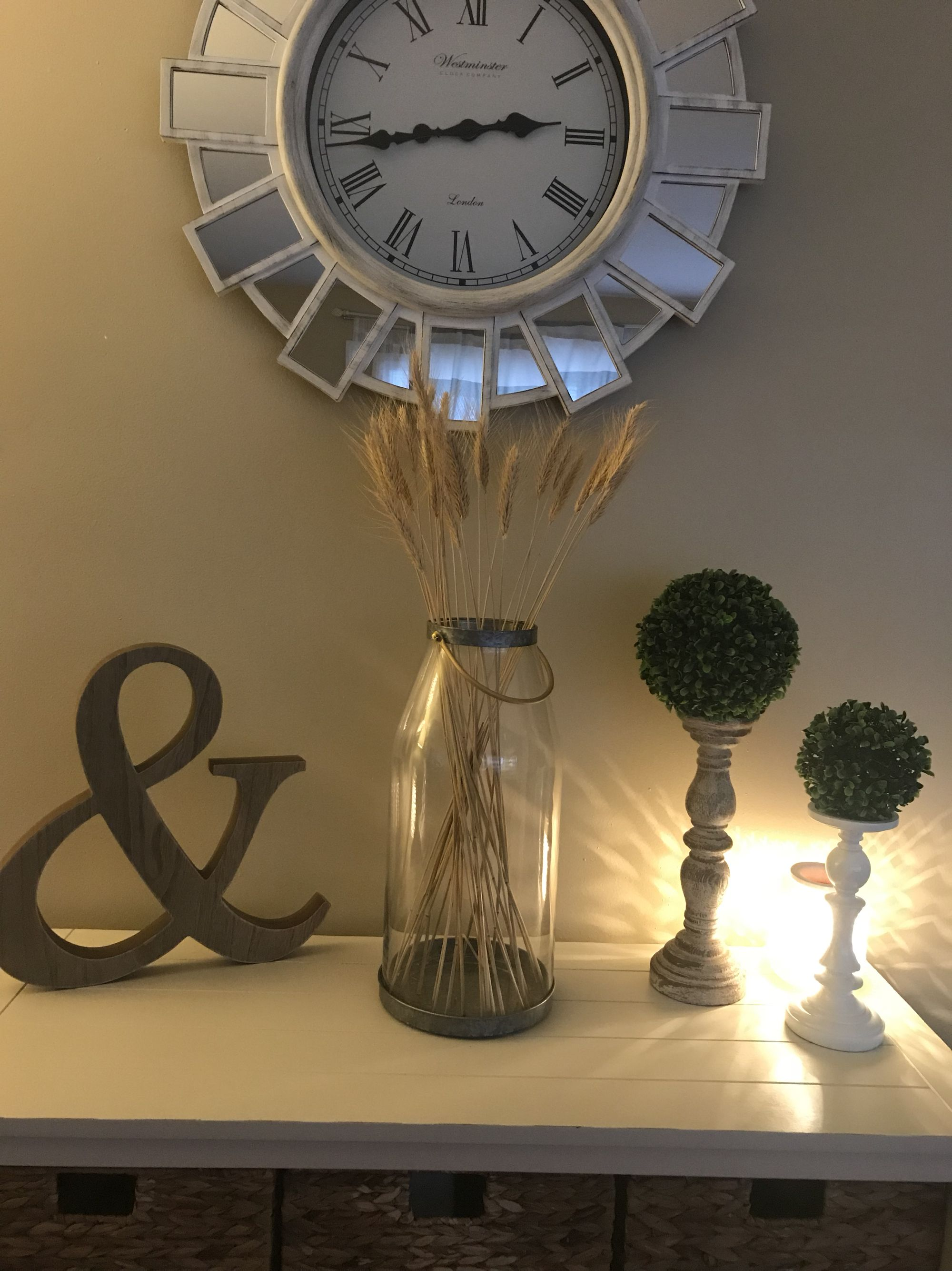 Hobby Lobby decor and Magnolia Farms Large candle holder ... on Hobby Lobby Wall Candle Sconces Wall Candle Holders id=74553