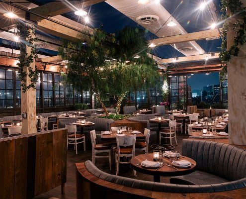 Catch Seafood Restaurant In Los Angeles Dining Nightlife And Events Cozy Restaurant Los Angeles Restaurants Birthday Dinner Restaurants