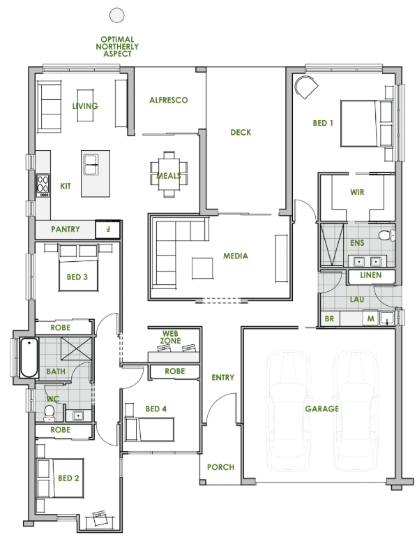 10 Contemporary House Designs With Floor Plan Perfect For Modern Family Contemporary House Design Bungalow House Design Contemporary House