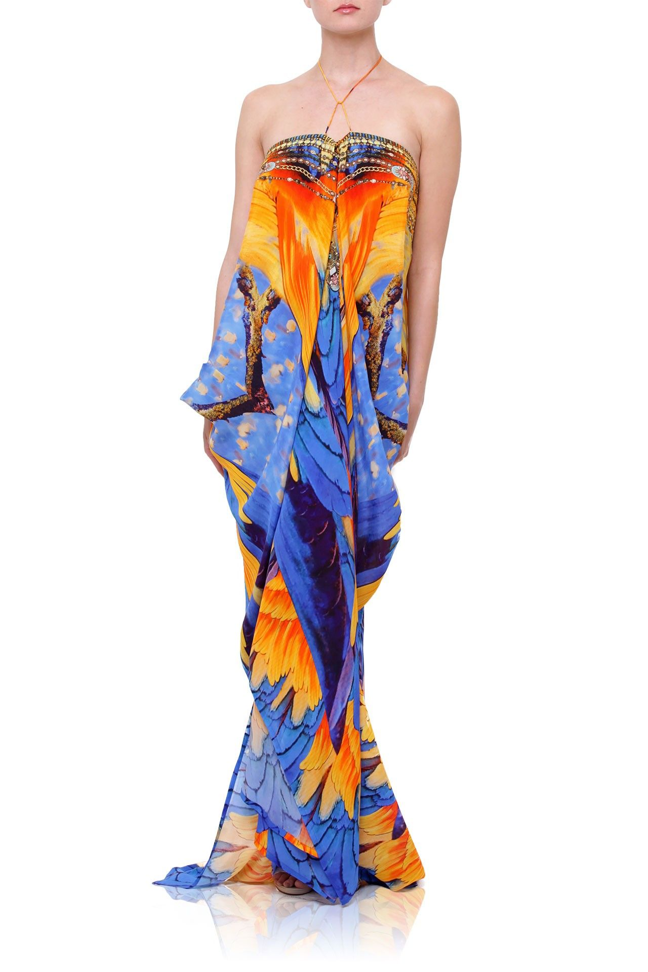 5afd801143bf Designer Long Kaftans [Best Animal Prints] Up to 50% Off - Shahida Parides®