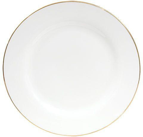 Bulk Gold-Rimmed White Stoneware Dinner Plates 10.5 in. at DollarTree.com  sc 1 st  Pinterest & Bulk Gold-Rimmed White Stoneware Dinner Plates 10.5 in. at ...