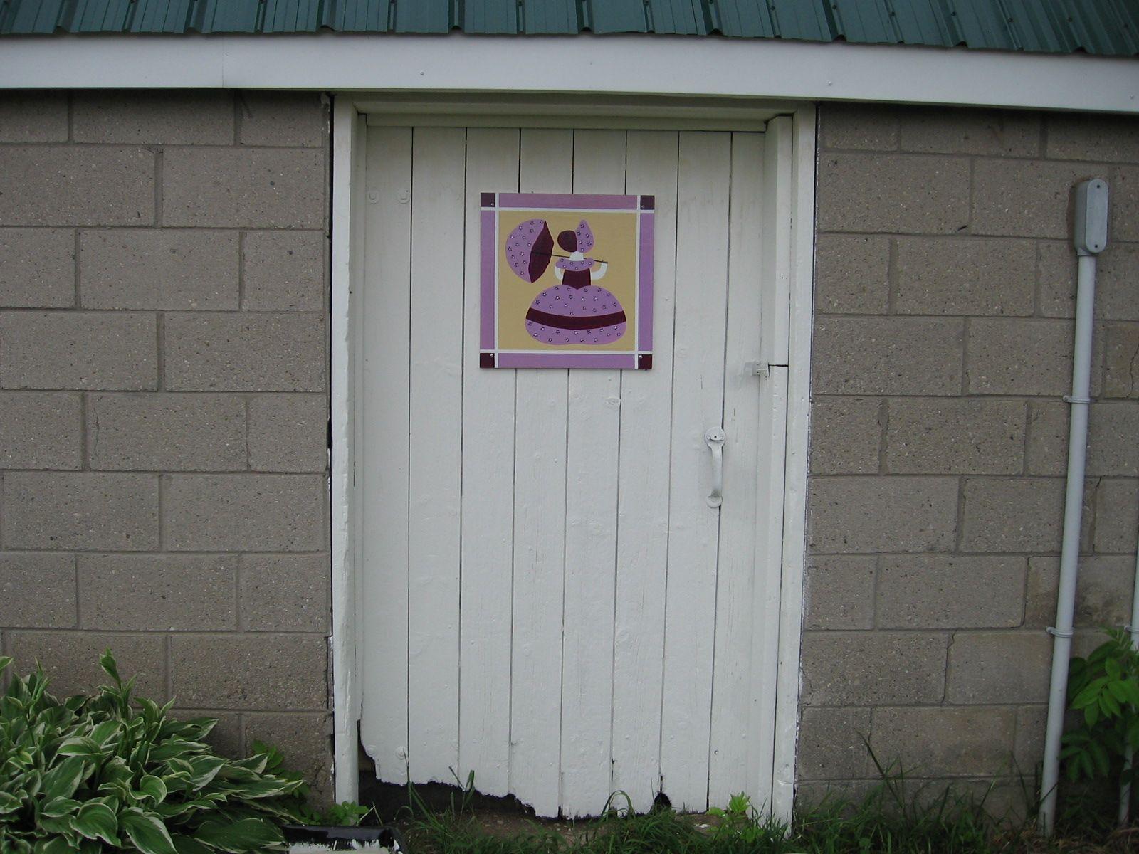 Barn Door Quilt Near Ilderton Ontario Canada Barn Quilts